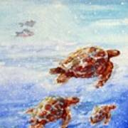The Loggerheads Catch The Currents Art Print