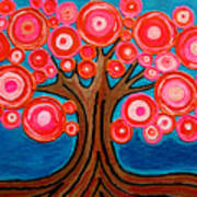 The Lollipop Tree Art Print