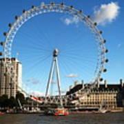 The London Eye 2 Art Print