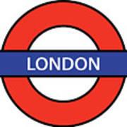 The London Underground Art Print