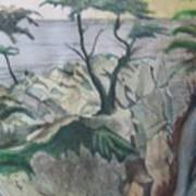 The Lone Cypress Art Print