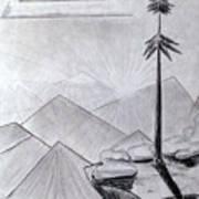 The Lone Pine Art Print
