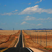 The Long Road To Santa Fe Art Print