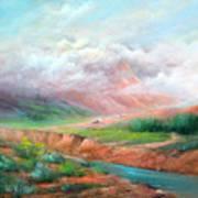 The Long Trail Art Print