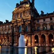 The Louvre Palace Art Print
