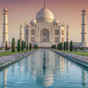 The Love Of Taj Art Print