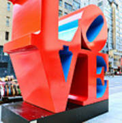 The Love Sculpture Print by Paul Ward