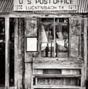 The Luckenbach Post Office Art Print