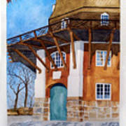 The Lumby Mill Art Print