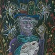 The Maddening Hatter Art Print