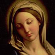 The Madonna Art Print by Il Sassoferrato