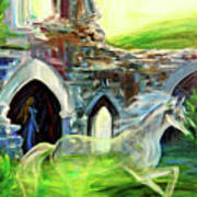 The Magic And Majesty Of Corfe Castle Art Print