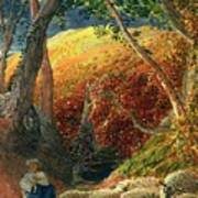 The Magic Apple Tree Art Print by Samuel Palmer
