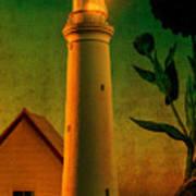 The Magic Lighthouse Art Print