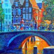 The Magic Of Amsterdam Art Print