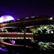 The Magic Of Epcot Art Print