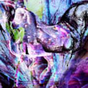 The Magic Of Horses Art Print