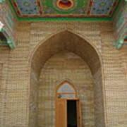 the main entrance, doorway, door, Asia Art Print