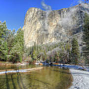 The Majestic El Capitan Yosemite National Park Art Print