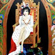 The Majestic Joan Collins D B E Art Print