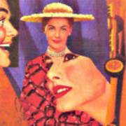 The Man In Her Life Paid More Attention To Ruby Hatfield After She Bought That New Dress Art Print