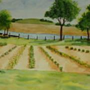 The Mangan Farm  Art Print