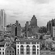 The Manhattan Skyline Art Print