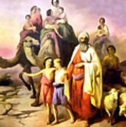 The March Of Abraham Art Print