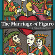 The Marriage Of Figaro Art Print
