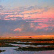 The Marsh  Art Print by Gary Gowans