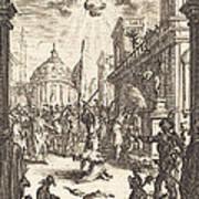 The Martyrdom Of Saint James Major Art Print