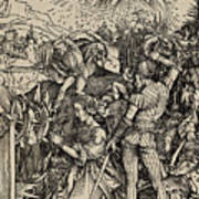 The Martyrdom Of St. Catherine Of Alexandria Art Print