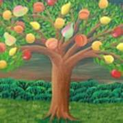 The Marzipan Tree Art Print
