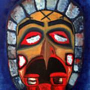 The Mask Of Sorrow Art Print