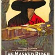 The Masked Rider 1919 Art Print