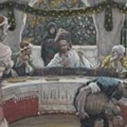 The Meal In The House Of The Pharisee Art Print