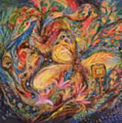 The Mediterranean Blues Art Print