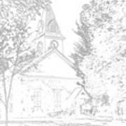 The Meeting House Art Print