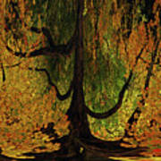 The Melting Tree Art Print