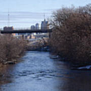 The Menomonee Near 33rd And Canal Streets Art Print