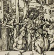 The Men's Bath Art Print