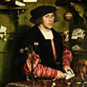 The Merchant Georg Gisze 1532 Art Print