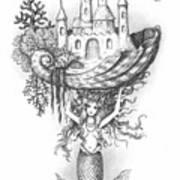 The Mermaid Fantasy Art Print
