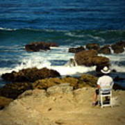 The Mighty Pacific Grab A Chair And Watch The Show Three Art Print