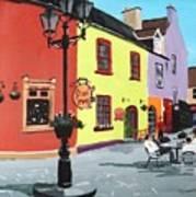 The Milk Market, Kinsale Art Print