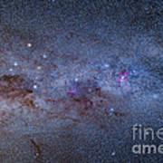 The Milky Way Through Carina And Crux Art Print
