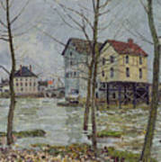 The Mills At Moret Sur Loing Art Print