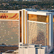 The Mirage Hotel Print by Andy Smy
