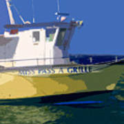 The Miss Pass A Grille Art Print