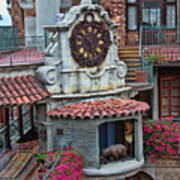 The Mission Inn Clock Tower Art Print